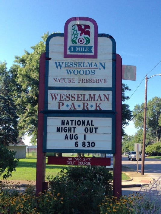 Wesselman Park night out 2017