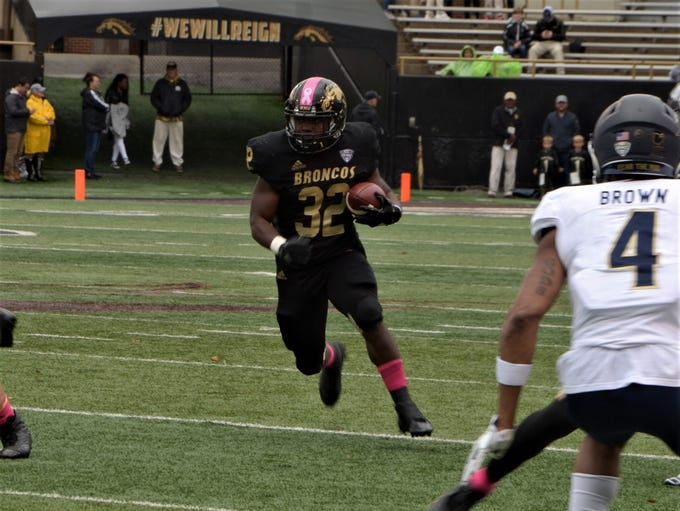 Western Michigan redshirt junior running back Jamauri