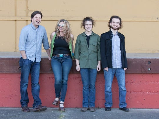 Blue Lotus, from left to right: Ben Bosse, Brandelyn Rose, Felix Blades, and Alex Huber.