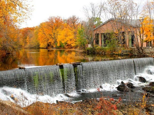 A shot of the falls at the Fishkill Creek at the Roundhouse in Beacon, NY. This was taken on Friday November 7th.