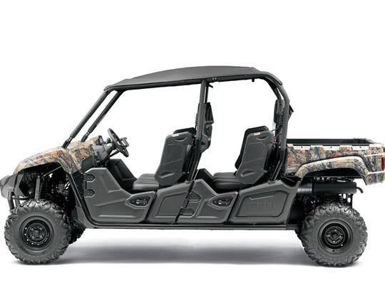 The rear wheels of Yamaha Viking utility vehicles can loosen and cause the rear end of the vehicle to wobble or the rear wheels to come off and cause the vehicle to crash.