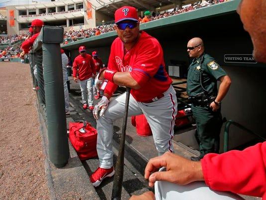 Phillies Orioles Spring Baseball