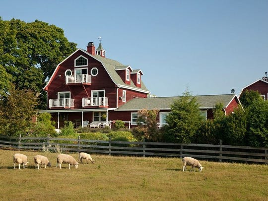 The Chanticleer in Sturgeon Bay has four luxury cottages located on 40 private, wooded acres.