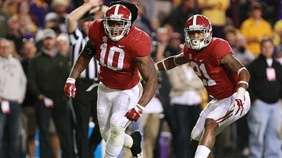 Two years ago, Reuben Foster unloaded on Leonard Fournette on the final play of regulation in Alabama's overtime win at LSU in 2014.