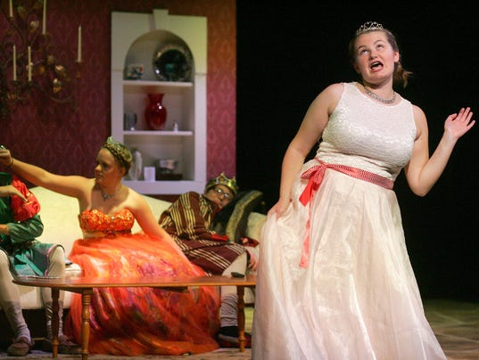 """Triple Locks Theater's production of """"Haphazardly Ever After,"""" directed by Shelly Lillibridge."""