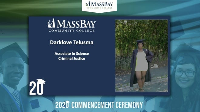 MassBay Community College held its virtual commencement Tuesday afternoon.