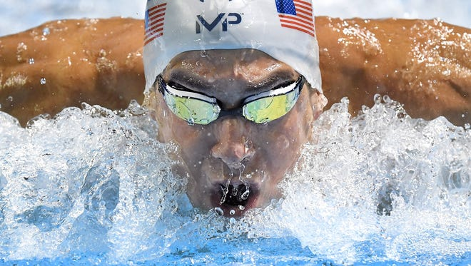 Michael Phelps has qualified for his fifth Olympic Games.