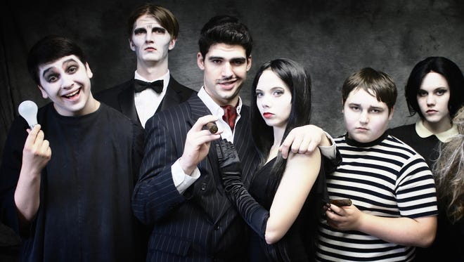 """""""The Addams Family"""" will be performed at the Coralville Center for the Performing Arts are 1 p.m. Friday, 7:30 p.m. Friday and Saturday and 2 p.m. Sunday."""