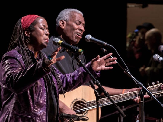 Kim & Reggie Harris will perform Saturday as part of the Tomorrow River Concerts Series.