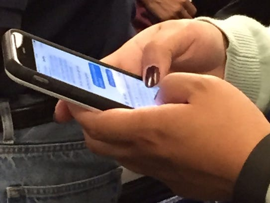 Some people, mostly younger individuals, prefer texting