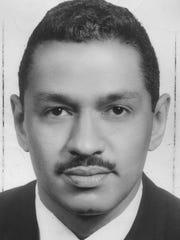 A photo of Congressman John Conyers, circa Nov. 8, 1966.
