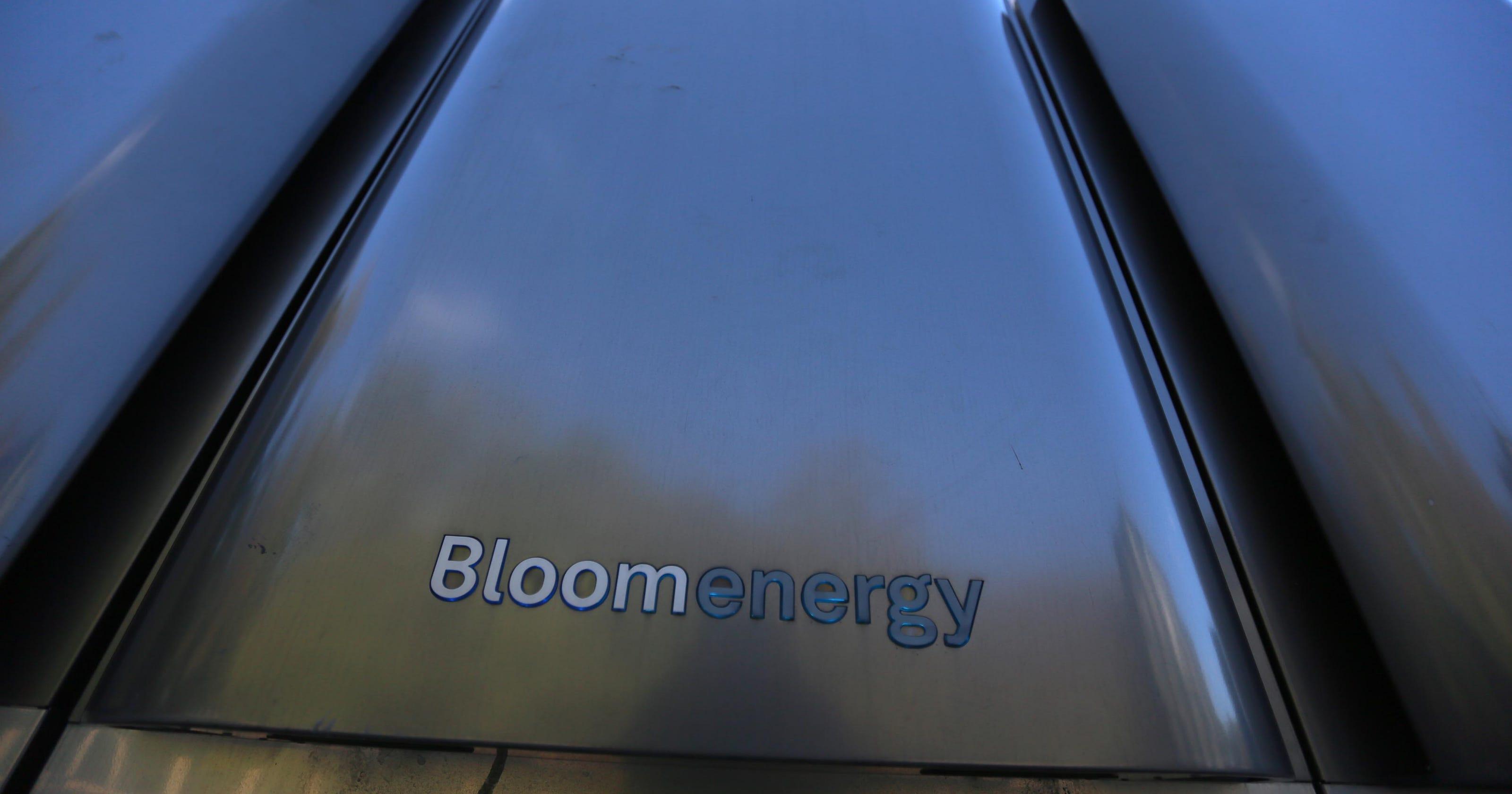 Bloom Energy shares spike after hitting market, despite Delaware