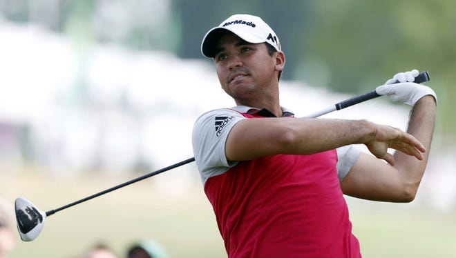 Jason Day was suffering from the flu, but saw his 2-under opening round at Baltusrol as a good sign.