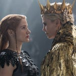 """Jessica Chastain and Charlize Theron in """"The Huntsman: Winter's War."""""""