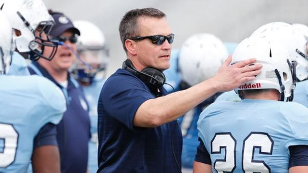 Mike Houston was hired to coach The Citadel back in January