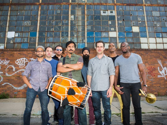 Red Baraat will perform at ARtsRiot Saturday night.