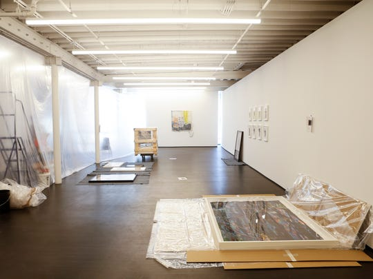A view of the second floor gallery space where art is still being hung inside at the Kentucky Museum of Art and Craft, 715 W. Main St, that reopens July 1. June 29, 2016