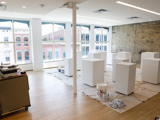 A sculpture space on the fourth floor of the Kentucky Museum of Art and Craft, located at 715 W. Main St, that will reopen to visitors July 1. June 29, 2016