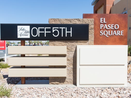 Saks Fifth Avenue's OFF 5th store comes to El Paseo Square in Palm Desert, Monday, August 8, 2016.