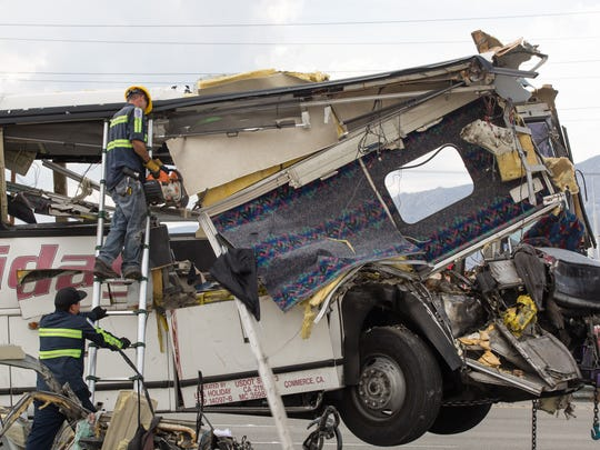 Trucker whose nap on I-10 led to 13 deaths in tour bus gets