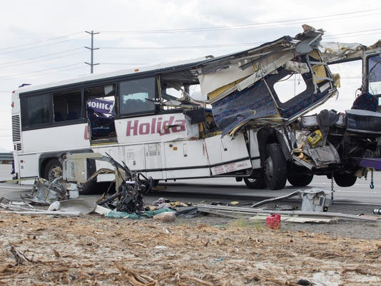 Bus In Fatal Crash Had Unsafe Tread On Tires