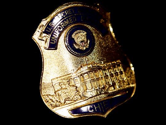 A U.S. Secret Service Uniformed Division shield
