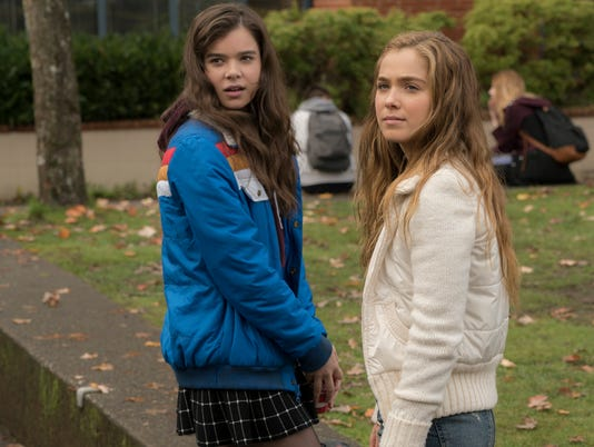 (Left to Right) Hailee Steinfeld and Haley Lu Richardson, THE EDGE OF SEVENTEEN
