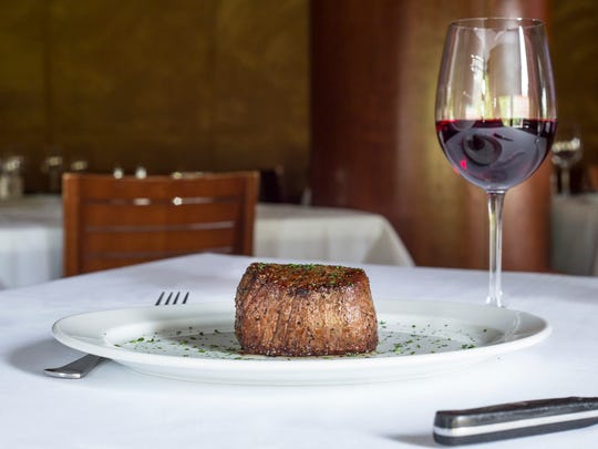 Ocean Prime's steaks are expertly seasoned and broiled at 1200 degrees.