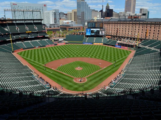 USP MLB: CHICAGO WHITE SOX AT BALTIMORE ORIOLES S BBA USA MD