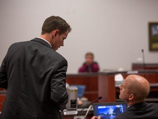 Prosecutors Bryan Shea and Ammon Barker discuss the