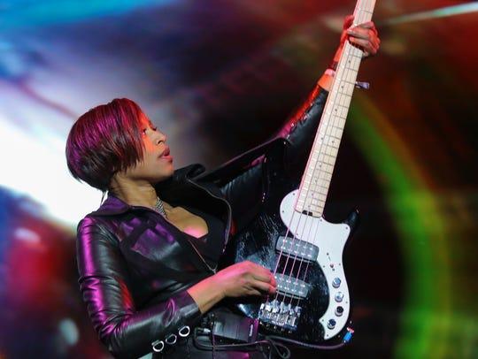 Apr 23, 2017; Indio, CA, USA; Yolanda Charles performs