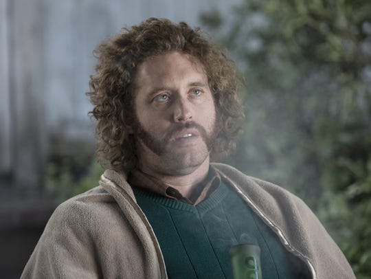 Delusional stoner Erlich Bachman (T.J. Miller) has