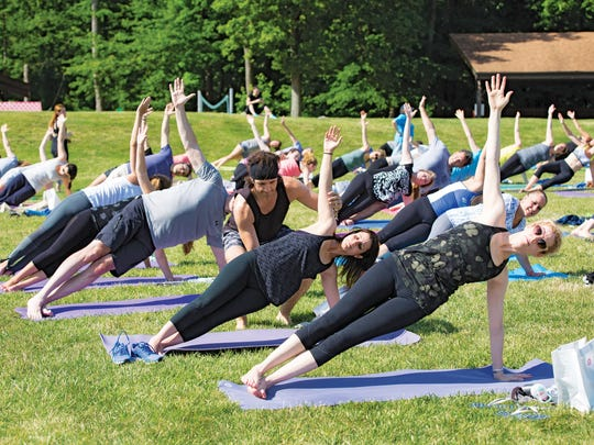 Yoga is a crowd favorite workout, known for its focus on relaxation.