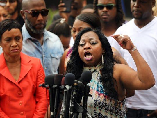 Valerie Castile, mother of Philando Castile, speaks