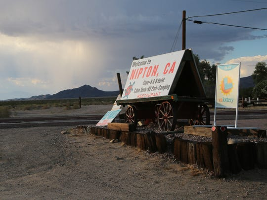 The town of Nipton, Calif., was recently sold to American Green a cannabis investment firm, Wednesday, August 2, 2017.