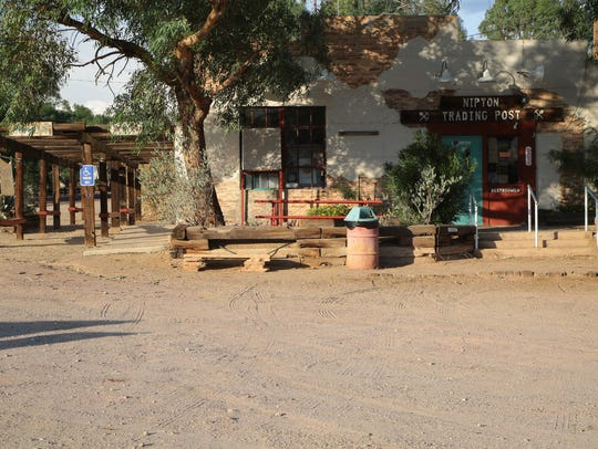 The Nipton Trading Post is one of the only remaining