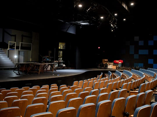 The first phase of renovations at the Asheville Community Theatre included new seats and sound paneling in the auditorium.