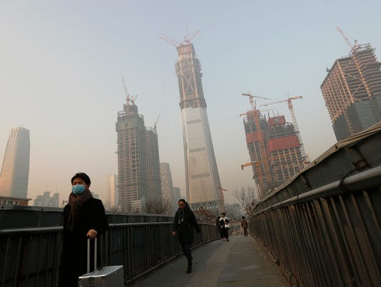 AP APTOPIX CHINA POLLUTION I CHN