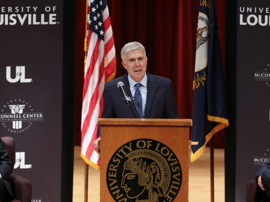 Neil Gorsuch, associate justice of the Supreme Court