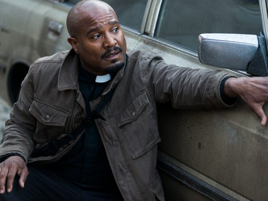 Seth Gilliam as Father Gabriel Stokes on 'The Walking