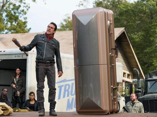 Jeffrey Dean Morgan as Neganon 'The Walking Dead.'