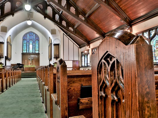 This December 2017 file photo shows the sanctuary of First Presbyterian Church in St. Cloud. (Photo: Kimm Anderson)