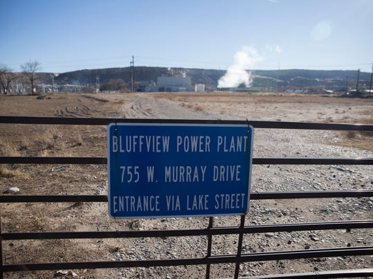 The Bluffview Power Plant is pictured on Tuesday, Jan. 16, 2017 on West Murray Drive in Farmington.
