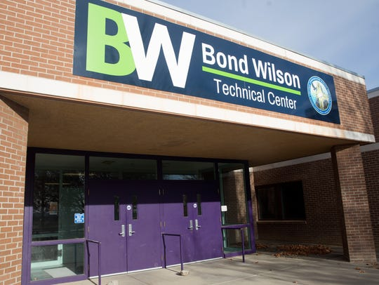 Bond Wilson Technical Center in Kirtland is seen in this 2018 file photo.