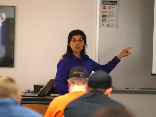 Carmen Martinez, director of the Small Business Development