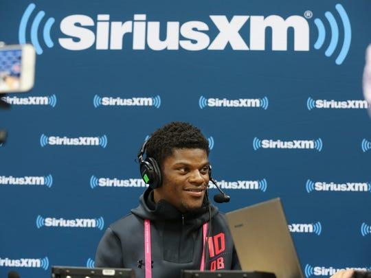 Former U of L QB Lamar Jackson was interviewed by Sirius