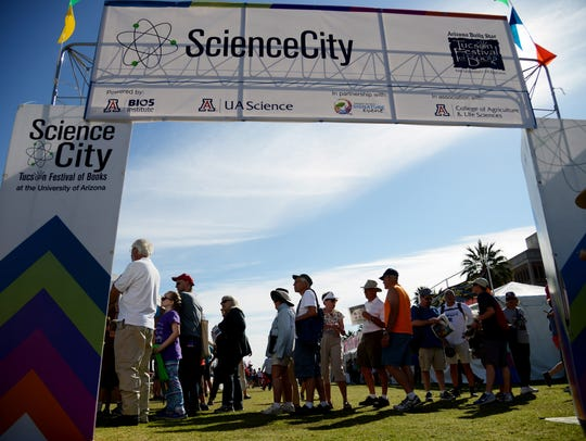 Science City at the Tucson Festival of Books includes