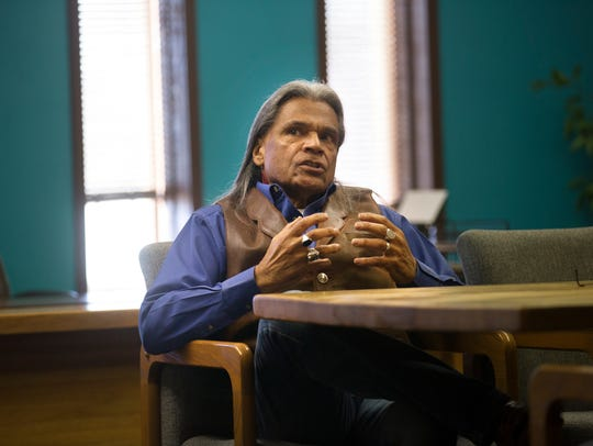 Navajo Ministries President Raymond Dunton says he doesn't shy away from challenges.