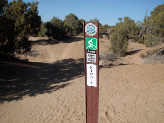 An inventory of trails in the area that is being developed will be placed on a map on a San Juan County website.