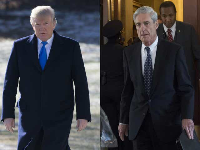 Donald Trump claims Robert Mueller probe is interfering with his presidential duties